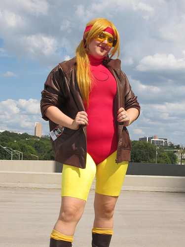 Jesse Quick at Dragon*Con 2012 by The Irredeemable Shag