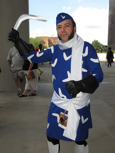 Captain Boomerang at Dragon*Con 2012 by The Irredeemable Shag
