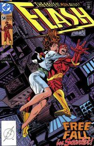 Flash #54: Free-Fall in Scarlet!