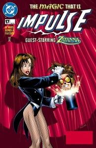Impulse #17 guest-starring Zatanna