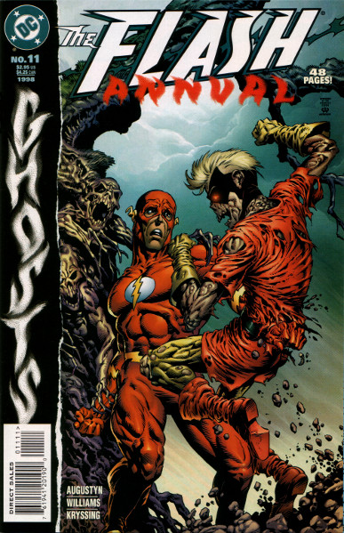 Flash Annual #11: Ghosts - Cover