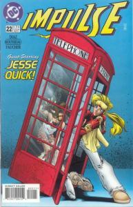 Impulse #22 guest starring Jesse Quick