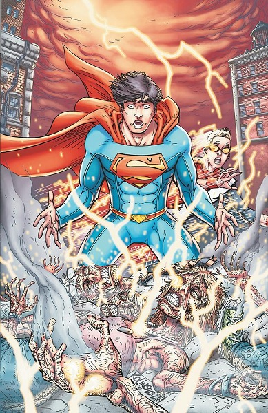 Smallville Season 11 #10 Cover by Scott Kolins