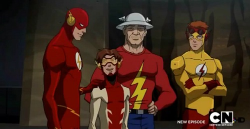 Young Justice: Bloodlines - Four Speedsters