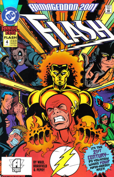 Flash Annual #4 (1991): Armageddon 2001
