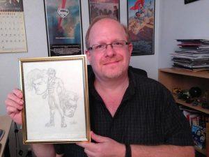 Mark Waid & Impulse Drawing