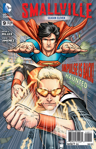 Smallville Season 11 #9 Cover by Scott Kolins