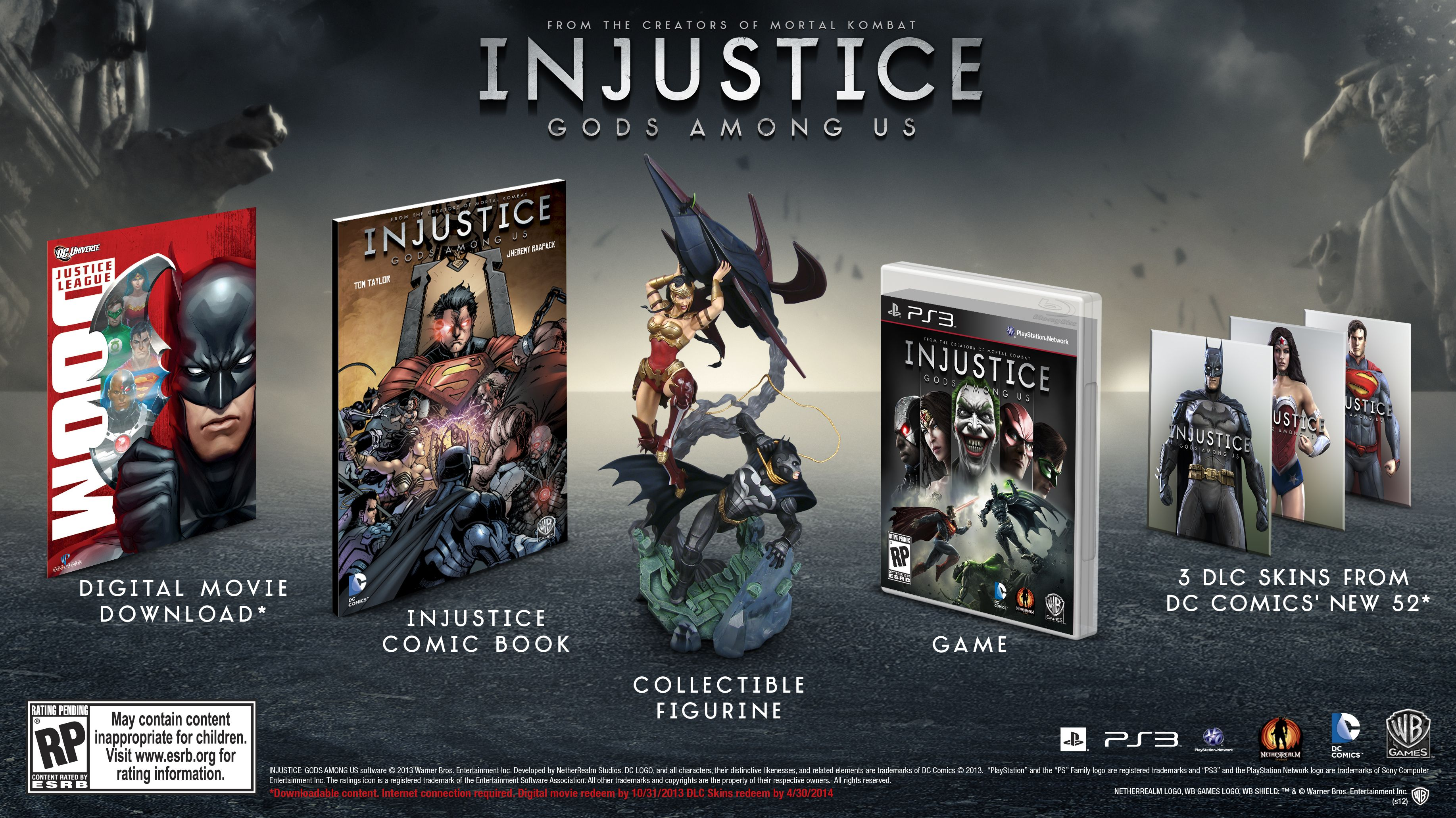 Injustice: Gods Among Us Gets A Release Date and Two ...