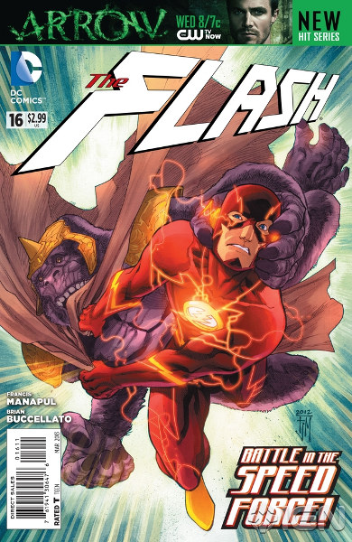 Flash #16 Final Cover
