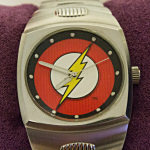 Flash watch closeup