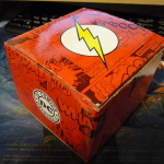 Flash wristwatch box