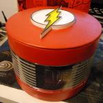 Flash wristwatch case