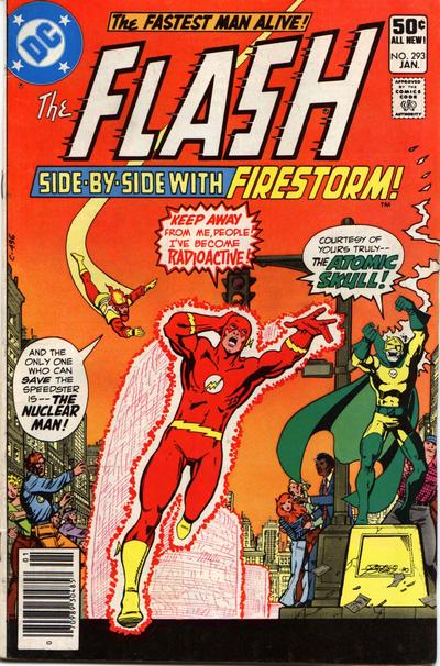Flash #293 - Firestorm and Atomic Skull