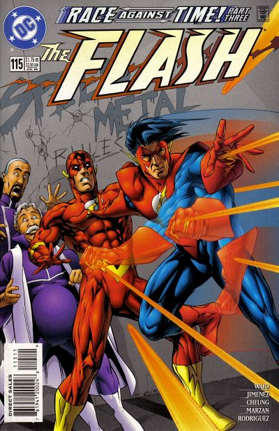 Flash #115: Race Against Time!