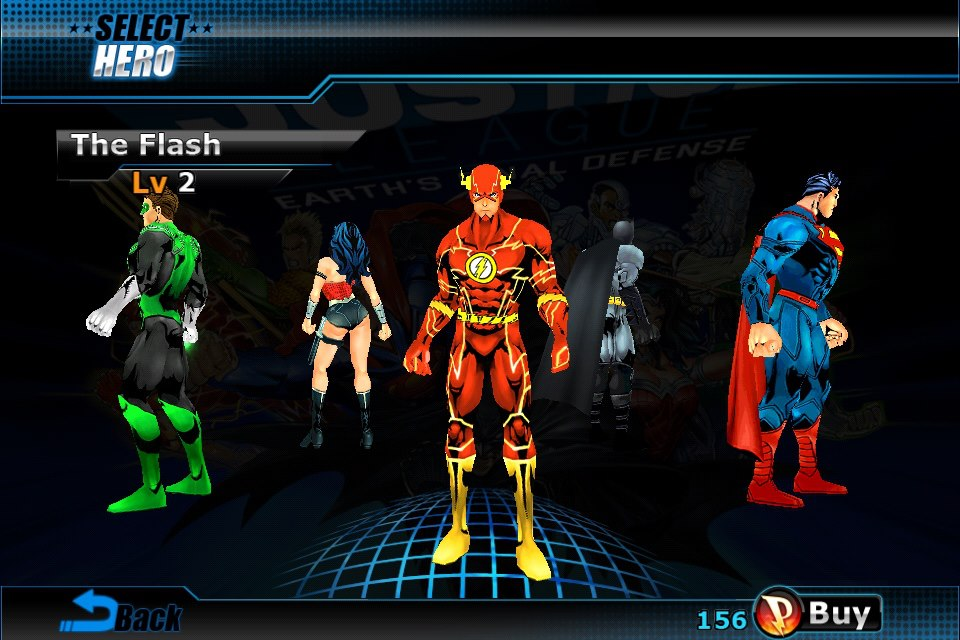 Justice League: Earth's Final Defense - Select the Flash