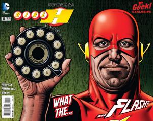 Dial H #11 full cover MTV Geek
