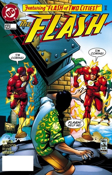 Flash #123: Flash of Two Cities