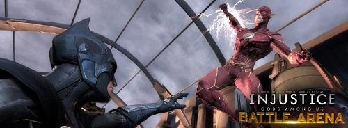Injustice Battle Arena: Flash vs. Batman