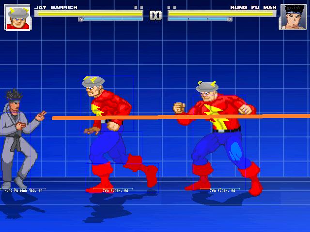 MUGEN: Jay Garrick vs Kung Fu Man