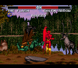 JLTF: Flash vs Green Arrow