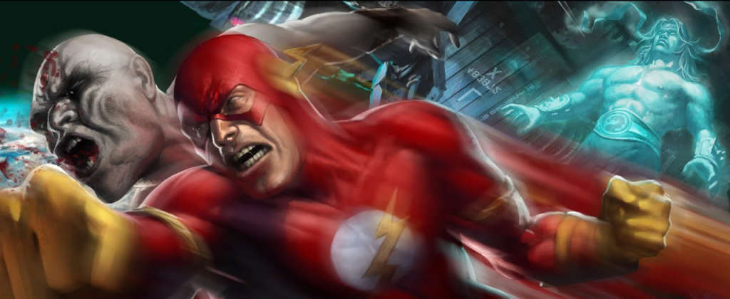 Speed Force, Flash in Video Games Part 4: Mortal Kombat vs ...