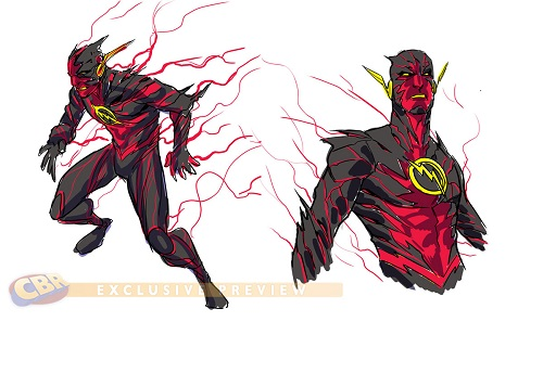 Reverse Flash Design by Francis Manapul