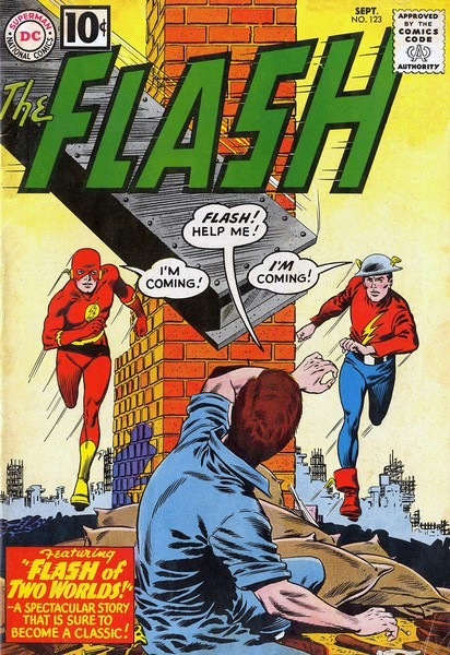 Flash #123: Flash of Two Worlds