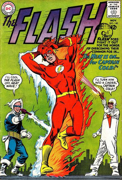 Flash #140: Heat Wave and Captain Cold
