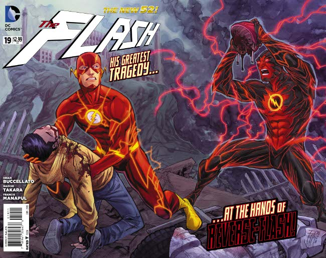 Flash #19 Cover