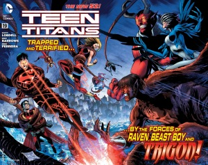 Teen Titans 19 cover