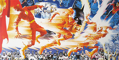 Flash in Crisis on Infinite Earths (Alex Ross)