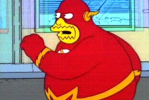 Comic Book Guy Flash