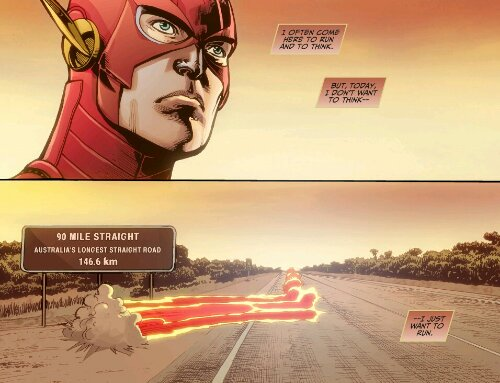 The Flash in Injustice: Gods Among Us #13 - Today I just want to run.