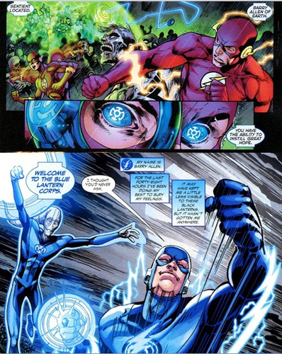 Flash of hope: Barry Allen becomes a Blue Lantern
