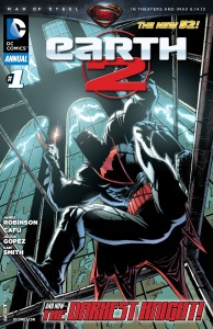 Earth 2 Annual 1 cover