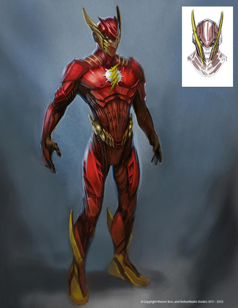 Injustice: Gods Among Us - Flash Concept Art