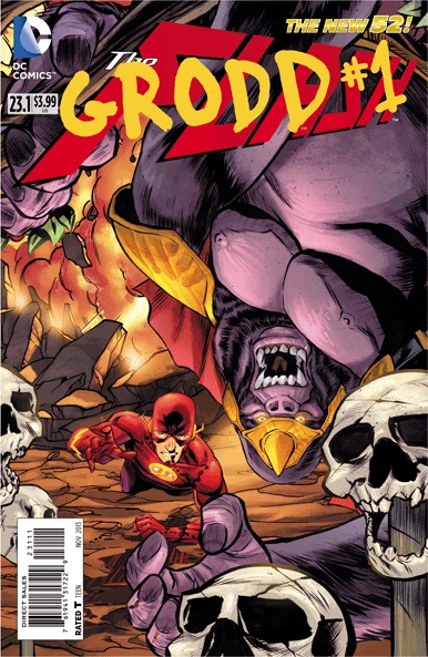 Flash #23.1 / Grodd #1 (still)