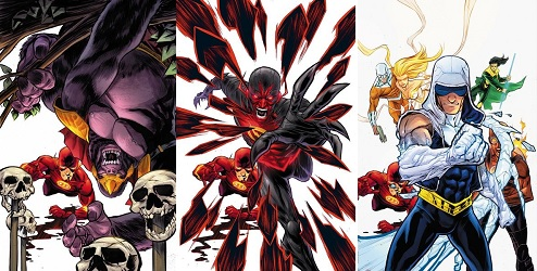 Flash comics for Villains Month