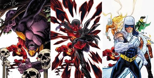 Flash comics for Villains Month