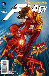 Flash #21 Cover