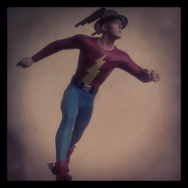 Jay Garrick Statue (Instagram)