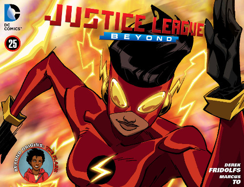 Justice League Beyond Chapter 25: The Flash Origin