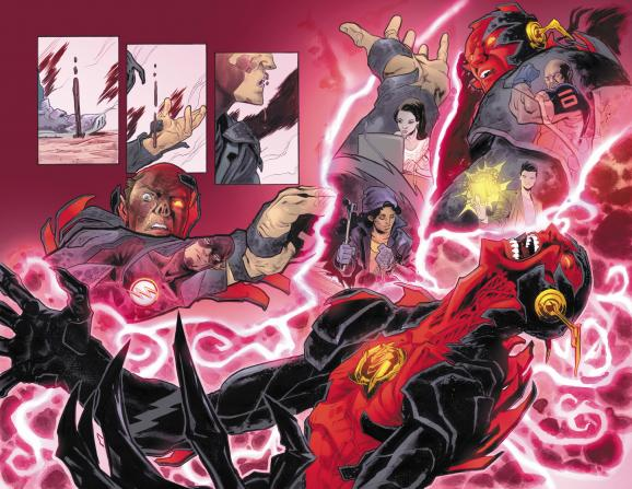 Reverse Flash #1 Art Preview