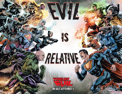 Forever Evil promo: Evil is Relative