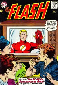 Flash 149: The Flash reveals his identity.