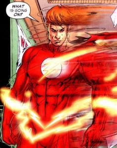 Wally West. What is going on?