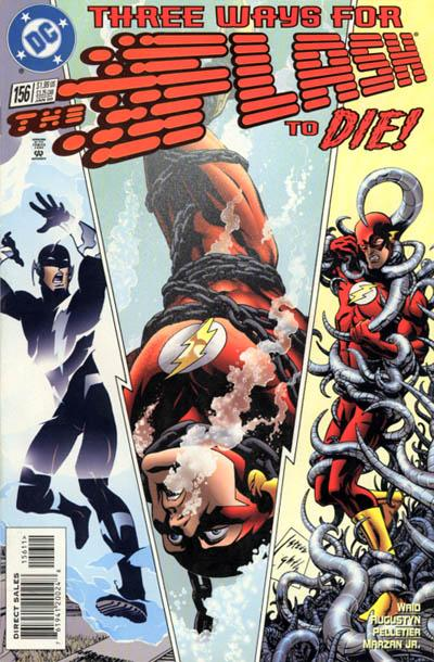 Flash #156 (Dark Flash Saga)