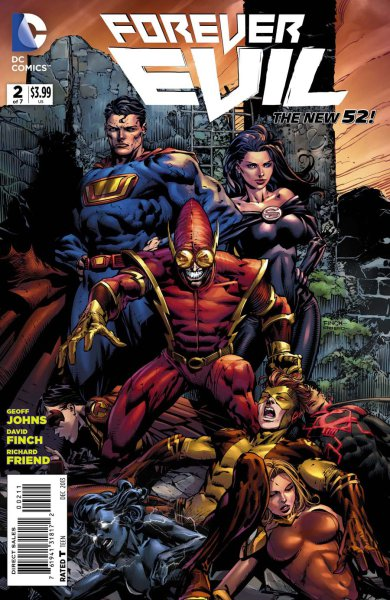 Forever Evil #2 starring Johnny Quick, Ultraman and Superwoman