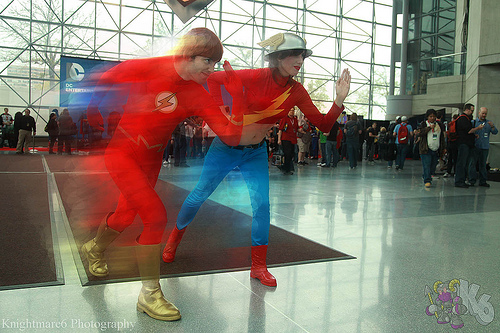 Wally West vs Jane Garrick (NYCC 2013)