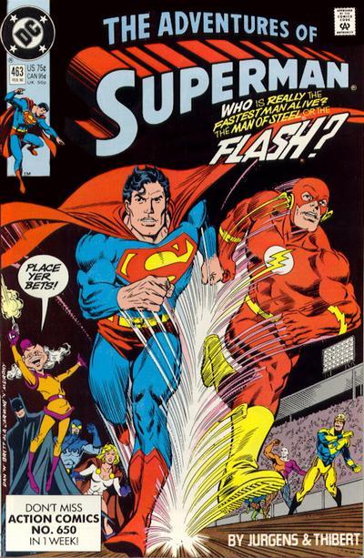 Adventures of Superman #463
